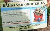 Backyard Groceries