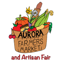The Aurora Farmers Market Retina Logo